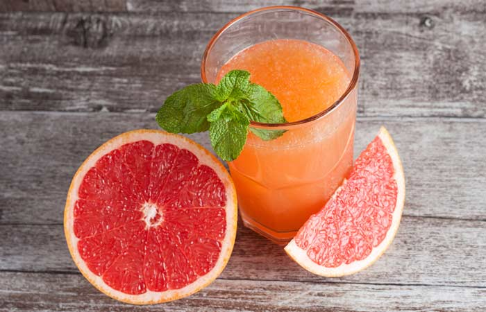 9. Grapefruit Juice