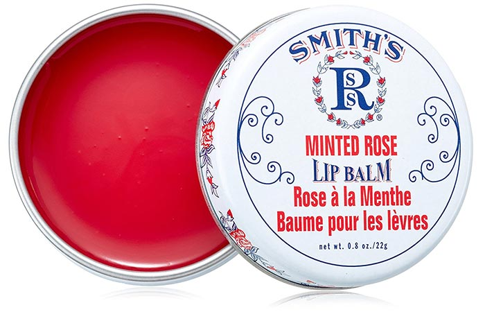 Rosebud Perfume Co. Smith's Minted Rose Lip Balm