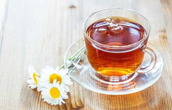 (a) Chamomile Tea For Insomnia