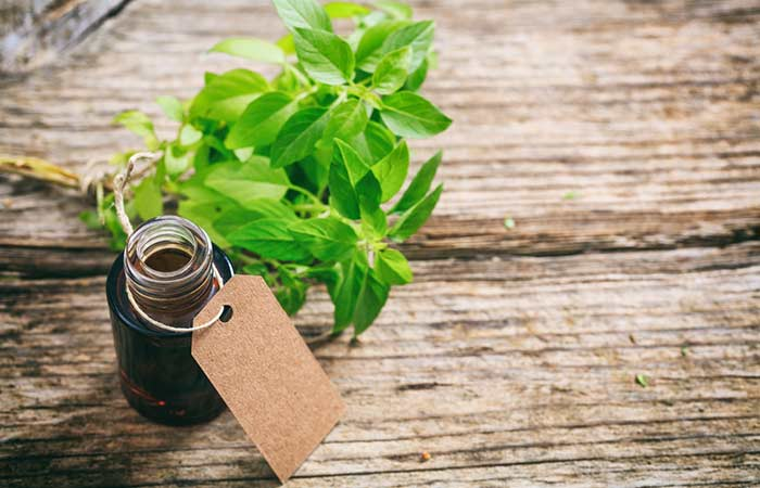 b. Holy Basil Essential Oil