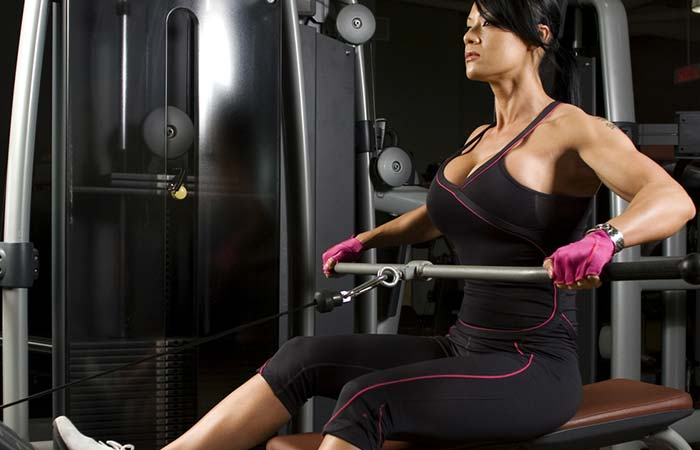 Seated Row Exercise - Wide Grip Seated Row