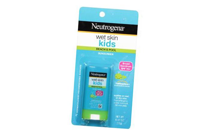 Top Sunscreens For Babies - 7. Neutrogena Wet Skin Kids Beach & Pool Sunscreen