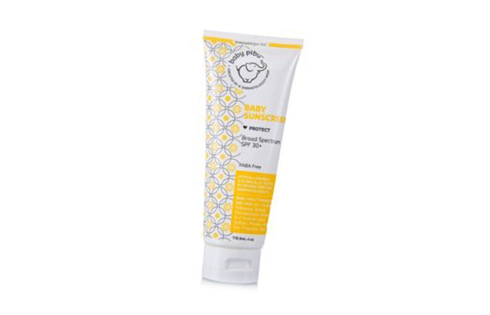 Best Sunscreen For Kids In India - 9. Baby Pibu Baby Sunscreen