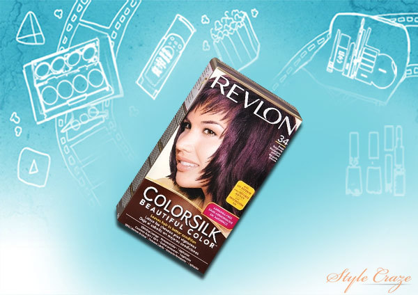 revlon color silk 3DB deep burgundy hair color