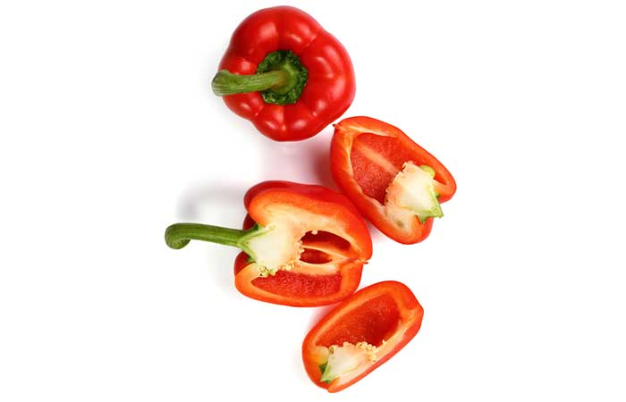 How To Protect Your Eyesight - Red Bell Pepper