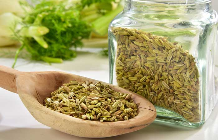 5. Fennel Seeds