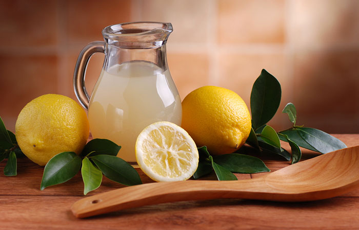 9. Lemon Juice
