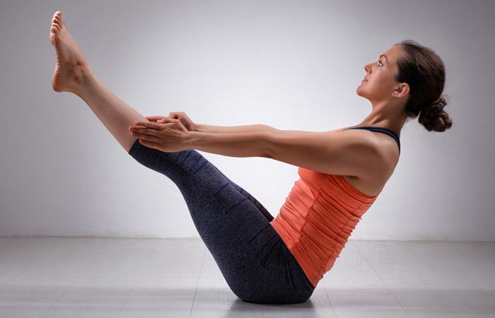 Navasana for back pain