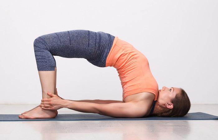 Setu Bandhasana for back pain