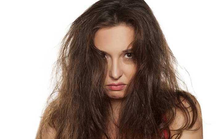 hair scrunching.