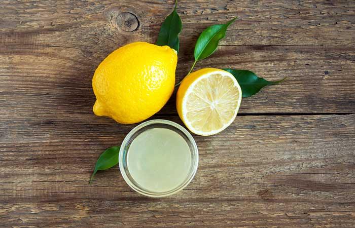 11. Lemon Juice