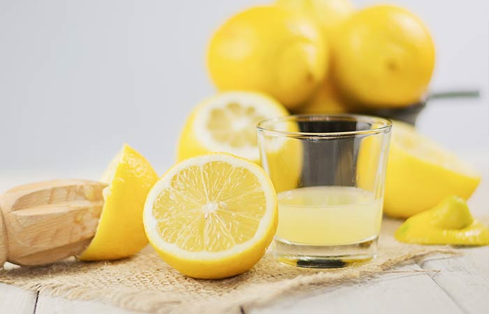 Home Remedies For Dry Eyes - Lemon Juice