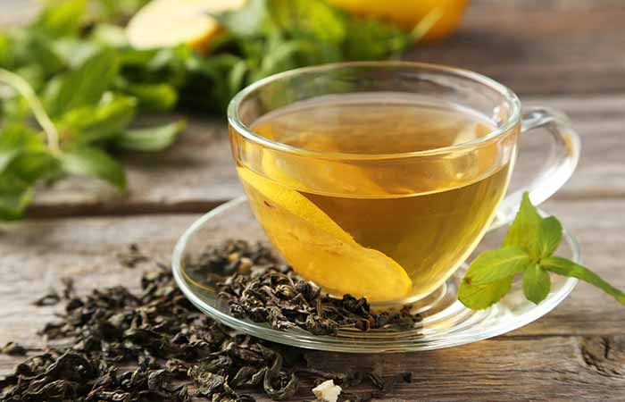Home Remedies For Dry Eyes - Green Tea Extract