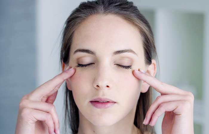 5. Eye Massage