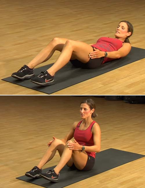 Basic Sit-up Steps