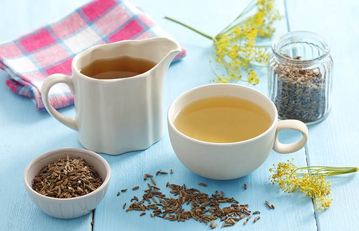 Home Remedies For Dry Eyes - Fennel Seeds Tea