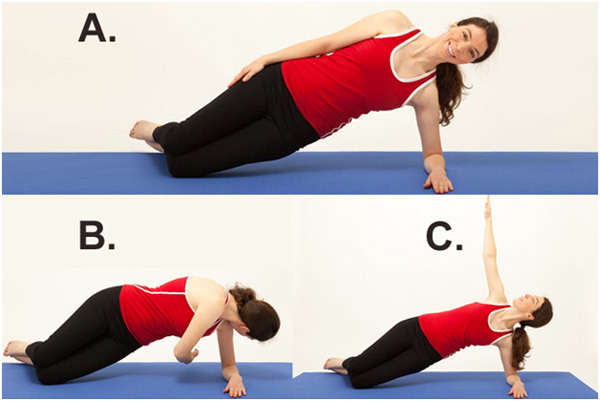 Exercises To Get Flat Abs - Thread the Needle