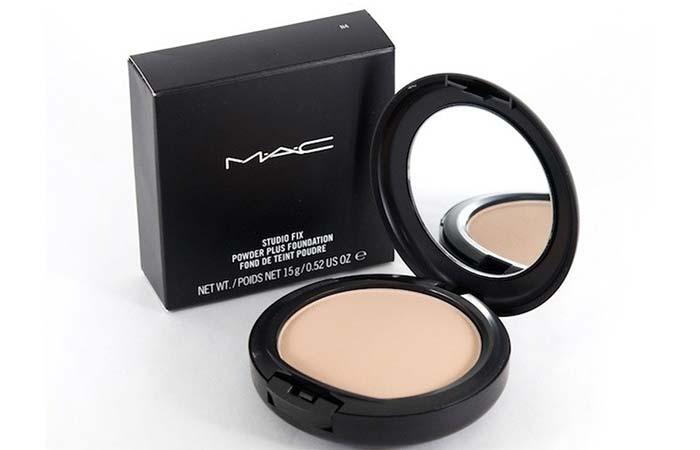 1. MAC Studio Fix Powder Plus Foundation - Best MAC Foundation