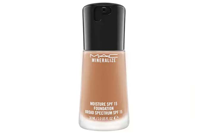 4. MAC Mineralize Moisture SPF 15 Foundation - Best MAC Foundation