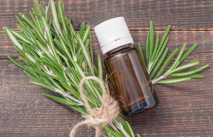 9. Rosemary Essential Oil