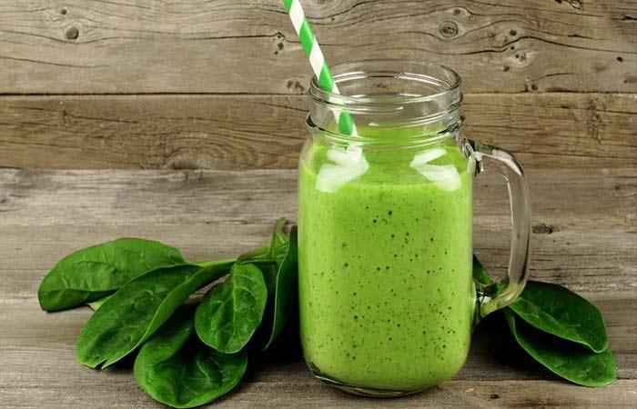 Garlic & Spinach Detox Smoothie