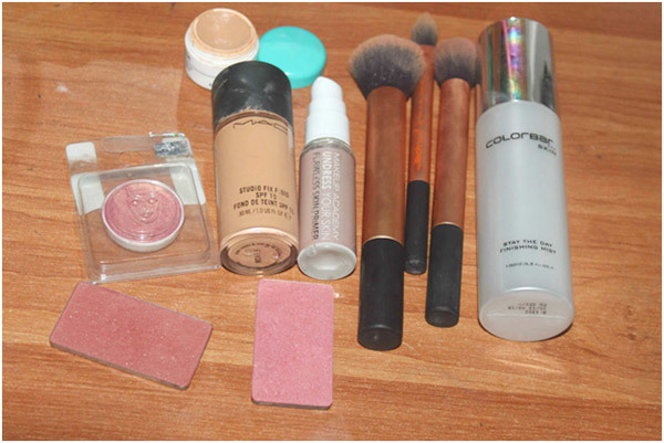 makeup required products