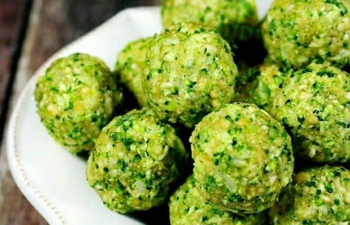 Oil Free Snack Recipes - Broccoli Balls