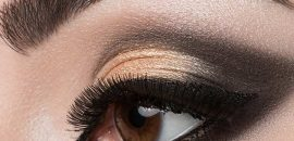 Dramatic Cut Crease Arabic Eye Makeup - Tutorial With Detailed Steps And Pictures
