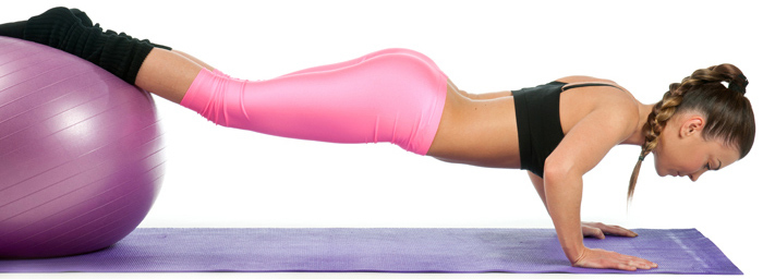 Chest Exercises For Women - Incline Push-ups