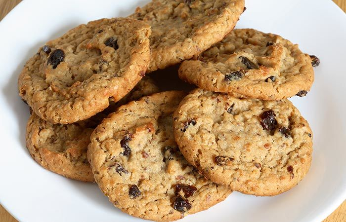 Healthy Breakfast For Weight Gain - Oatmeal Cookies