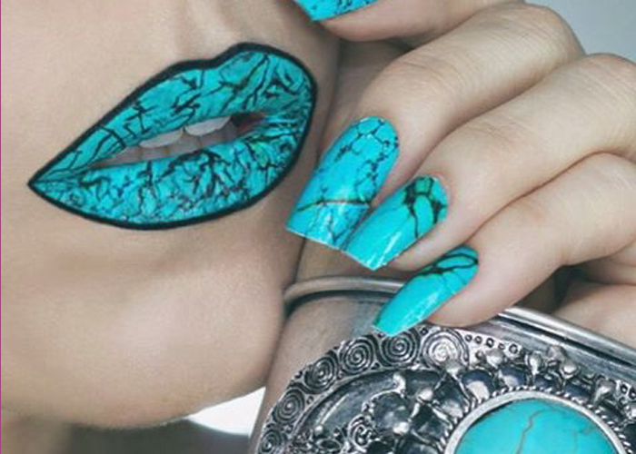 Crackled Turquoise