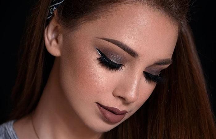 Gray Eyeshadow Makeup For Dark Brown Eyes