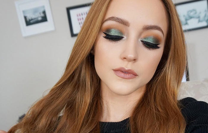 Green Eyeshadow Makeup For Brown Eyes
