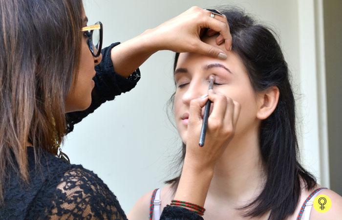 an eyeshadow