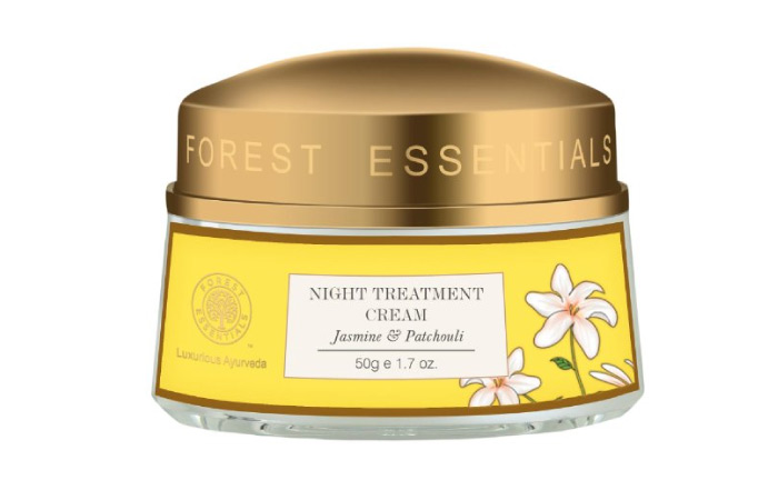 Winter Face Cream - Night Treatment Cream Jasmine And Patchouli By Forest Essentials