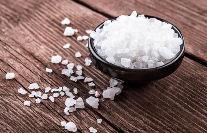 10. Bleach Hair With Salt