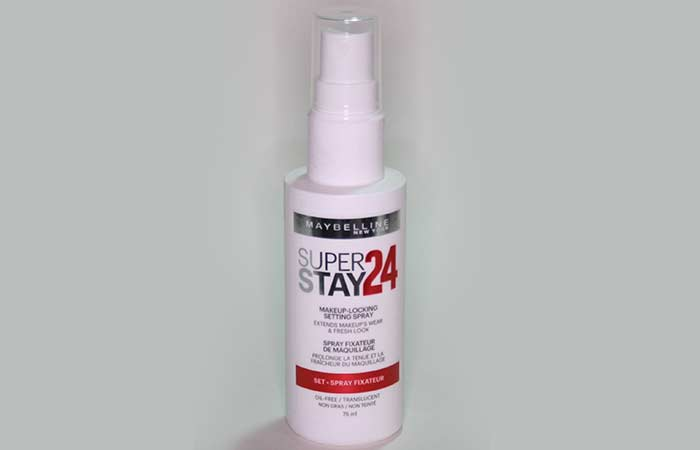 Best Makeup Setting Sprays - 4. Maybelline Superstay 24 Makeup-Locking Setting Spray