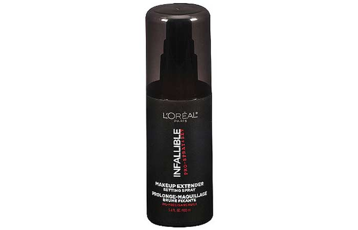 Best Makeup Setting Sprays - 9. L'Oreal Infallible Makeup Extender Setting Spray