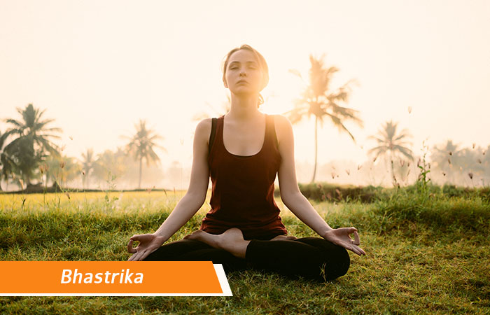 Bhastrika - Breathing exercises to treat Headache