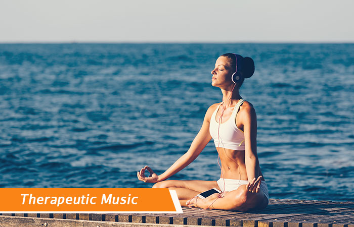 Therapeutic Music - Breathing exercises to treat Headache