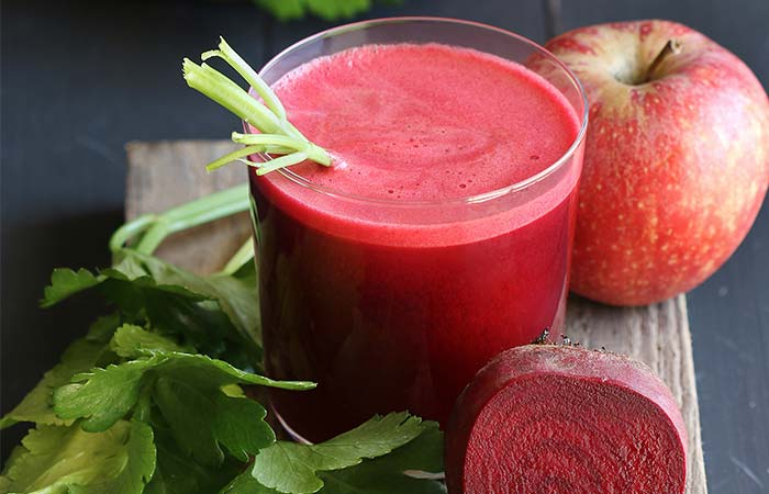4. Apple And Beetroot Juice For Weight Loss