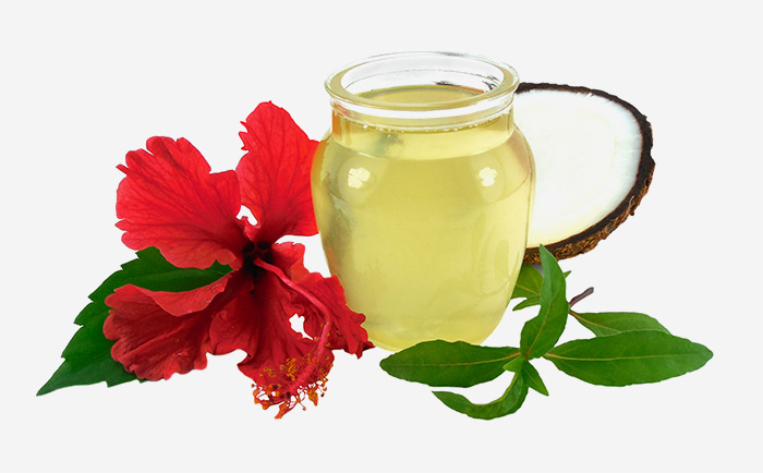 1. Hibiscus Infused Hair Oil For Hair Growth