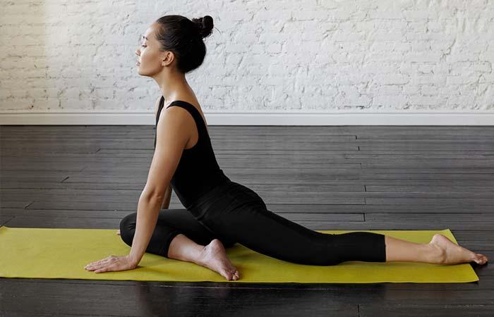 Hip Flexor Stretches - Pigeon Stretch