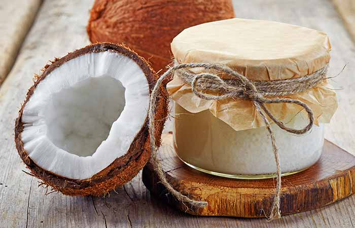 Home Remedies For Cellulitis - Coconut Oil