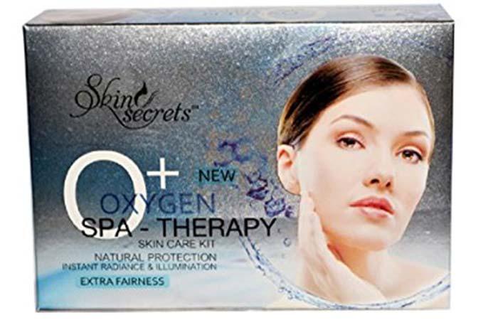 3. Skin Secrets Oxygen Spa Therapy Facial Kit