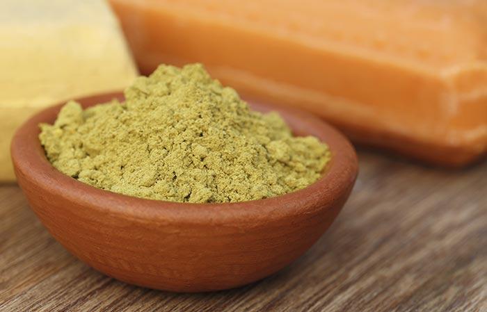 Henna And Fenugreek Seed Powder