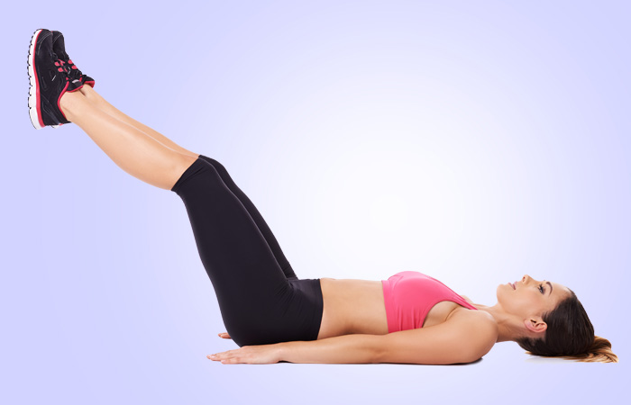 Exercises To Reduce Side Fat - Leg Lifts