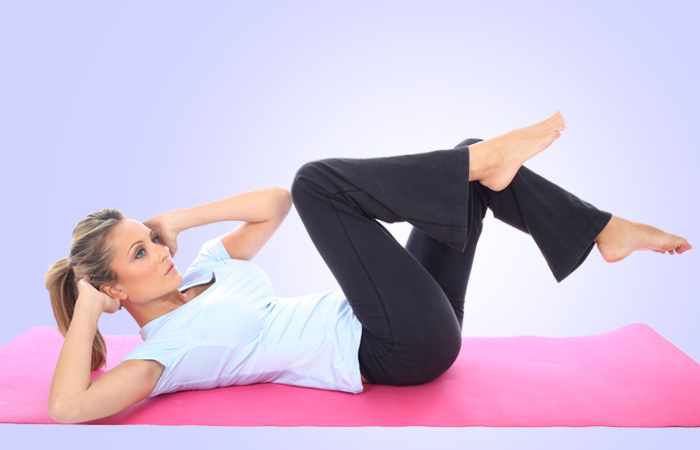 Exercises To Reduce Side Fat - Oblique Crunch