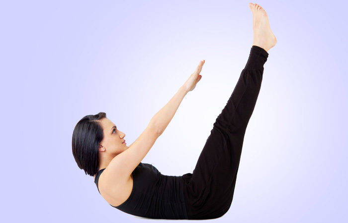 Exercises To Reduce Side Fat - Piked Elbow Twists