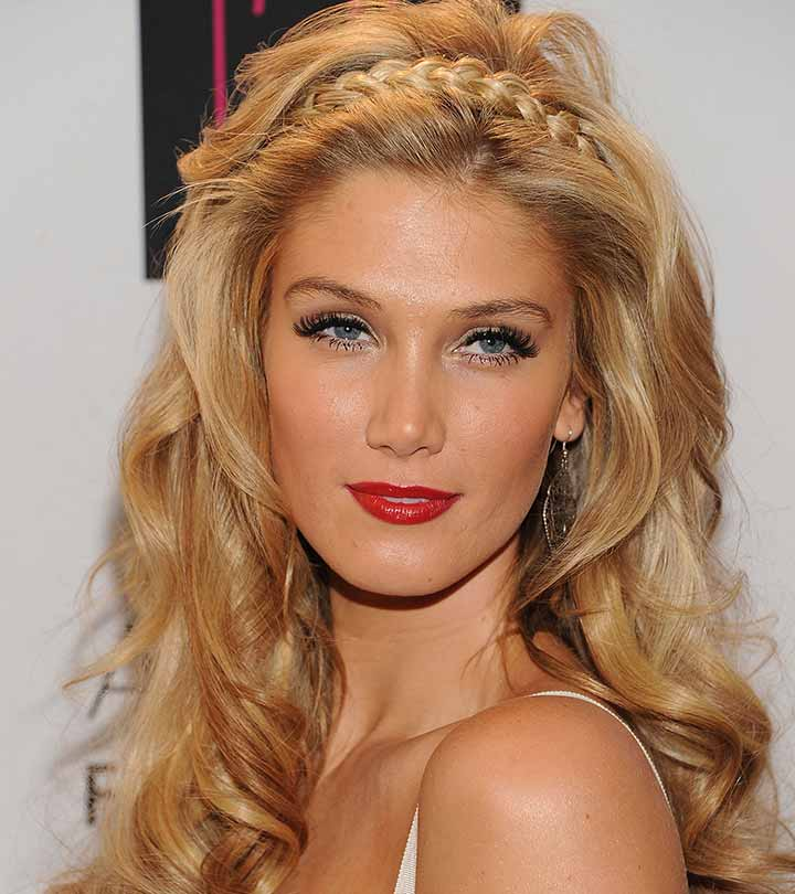 10 Beautiful Updos For Long Curly